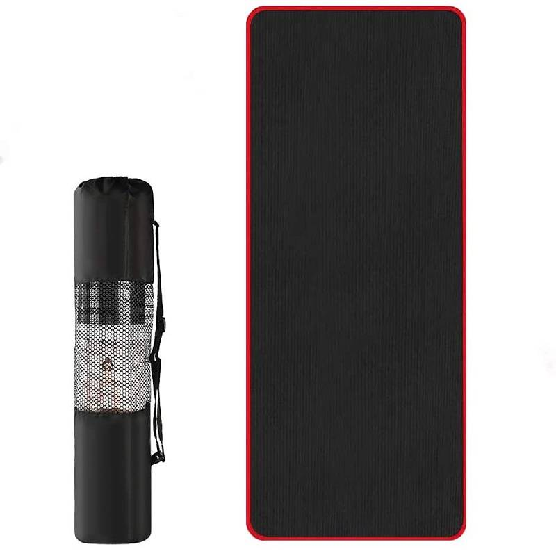 Yoga Pilates Mat 10mm Thicker NBR exercise mat with strap