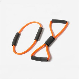 Fitness 8-shaped Resistance Bands With Handles