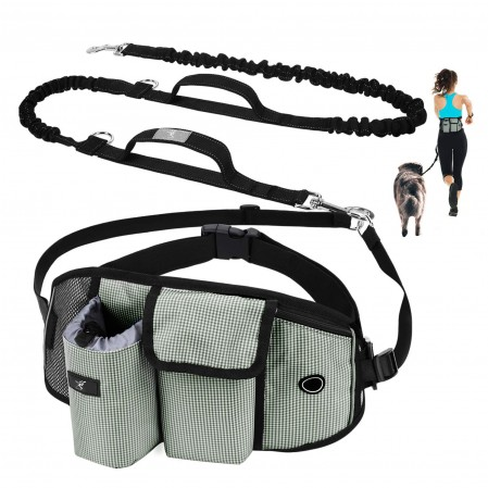 Hands Free Dog waist bag for Running