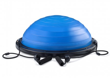 Balance Trainer Ball with Resistance Bands,