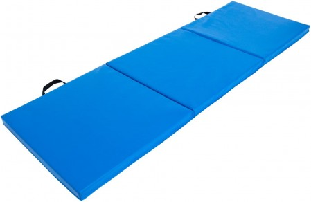 Tri-Fold Folding thick Exercise Mat with Carrying Handles