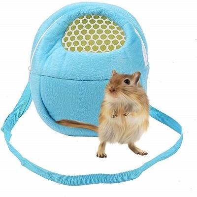 Pet Carrier Bag Hamster Portable Breathable Outgoing Bag for Small Pets Like Hedgehog,Sugar Glider and Squirrel