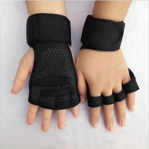 Custom Half finger Gym fitness weightlifting gloves