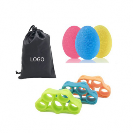 Anti stress ball  with hand exerciser set