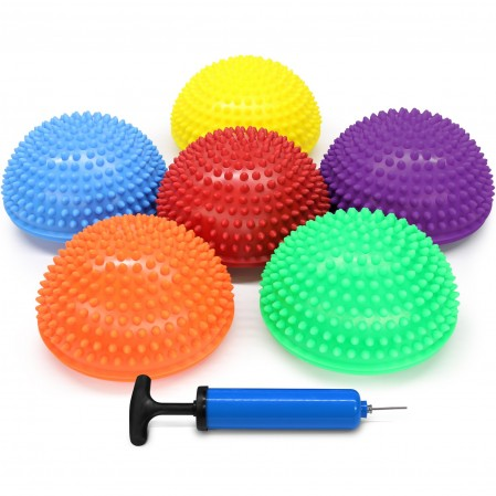 Hedgehog Balance Pods with Hand Pump  Multiple Colors