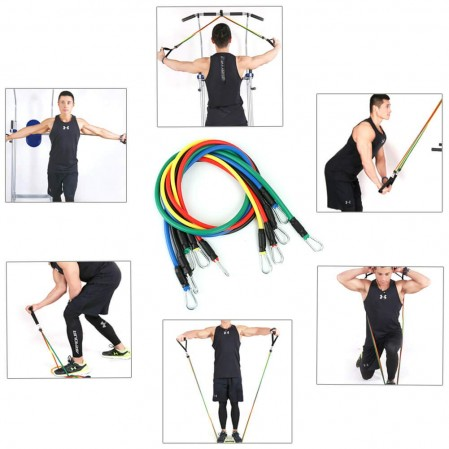 Resistance bands supplier  with core slider set