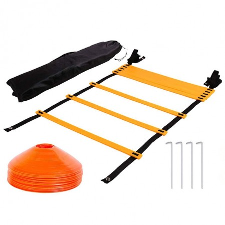 Agility Ladder & Speed Cones Training Set