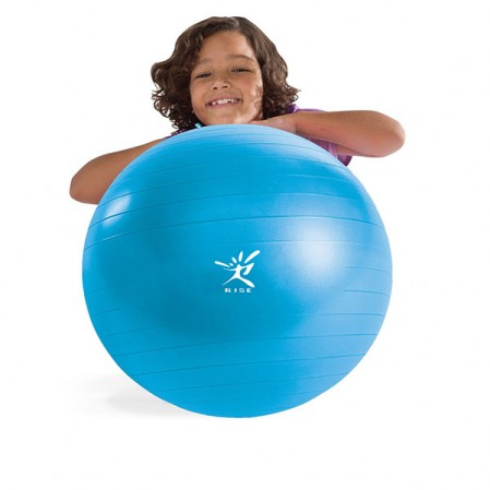 Exercise Ball, Pilates Yoga Ball with Quick Pump 45cm