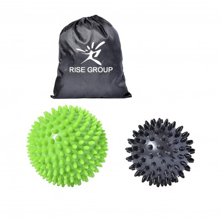 Athletics High Density Therapy Pvc Massage Ball Spiky Firm Soft Foot Plantar Fasciitis Massager Muscle Soreness Massager Ball
