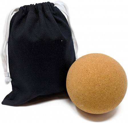 Eco-Friendly Cork Massage Ball Set or Muscle Pain & Tension Relief