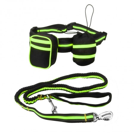 Dog Running Traction Waist Bag