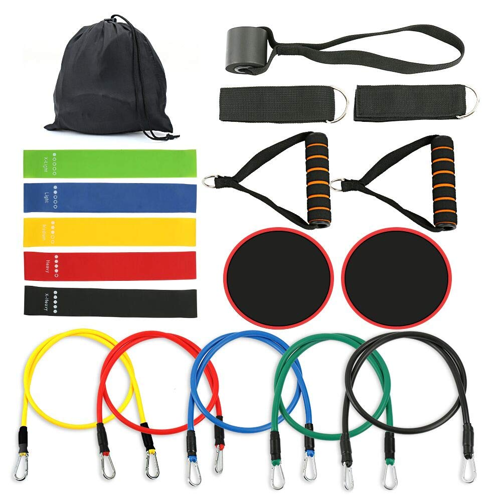 Resistance bands supplier  with core slider set Featured Image