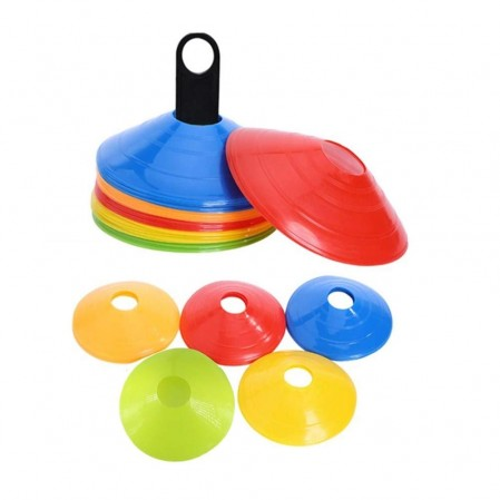 Agility Soccer Cones   with Carry Bag and Holder for Training,