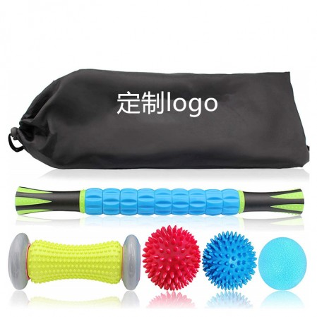 Massaġġi Ball Set & Roller Muskoli Massager