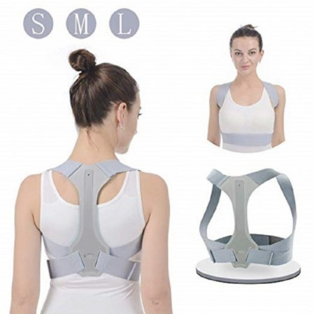 2019 High quality Posture Corrector – Adjustable Posture Corrector  Upper Back Brace for Clavicle Support and Providing Pain Relief from Neck, Back – Rise Group