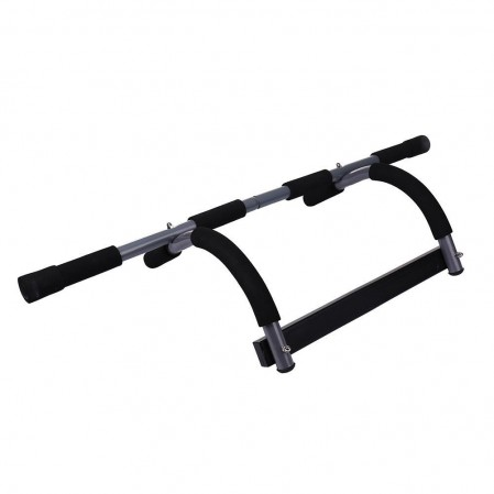Total upper body workout push up bar chin up bar heavy duty doorway trainer for home gym
