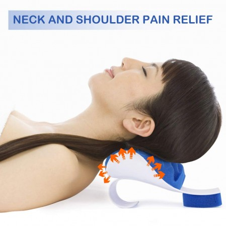 Neck and Shoulder Relaxer Cervical Pillow