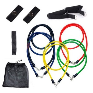 Factory customize resistance band/resistance tube for fitness