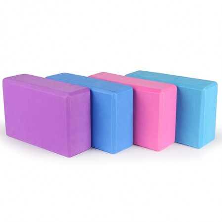 High Density EVA yoga Foam Blocks to Deepen Poses, Improve Strength and Aid Balance