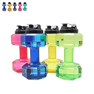 Customized water kettlebell weightlifting Water Bottle Fitness Exercise weight water bottle