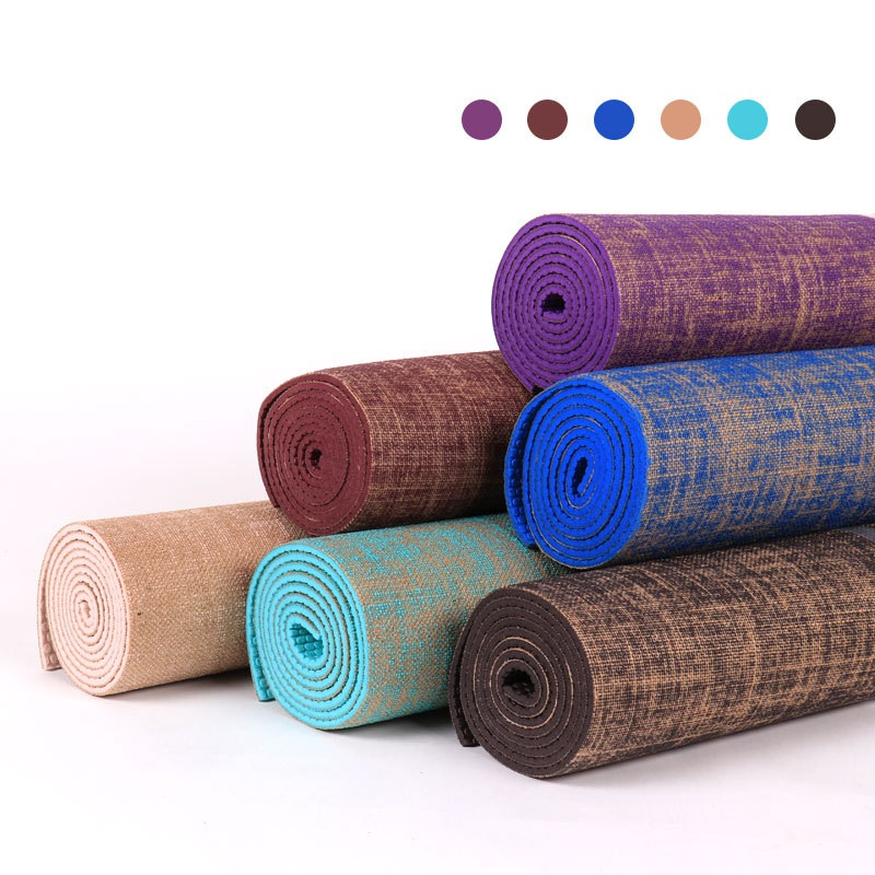 Natural Jute Yoga Mats Eco Organic