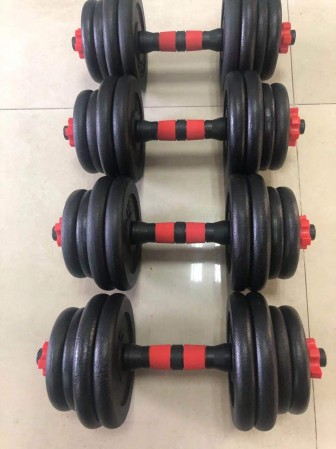 Adjustable Weight Dumbbells Set, barbell  Weights 2-in-1 Set
