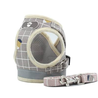 Soft Mesh Dog Cat Harnesses Lightweight Reflective Padded Vest Harnesses