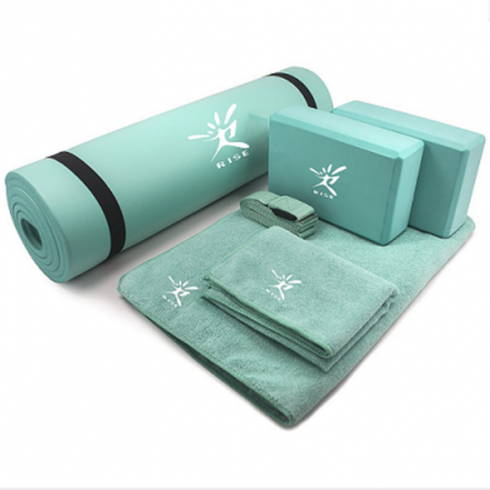 Yoga set 6 in 1, NBR yoga mat supplier, blocks ,Towels,yoga strap, free combination for yoga and pilates exercise,quick delivery