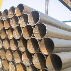 IOS Certificate Large Diameter Spiral Welded Pipe - ERW Structural Pipe – Rise Steel