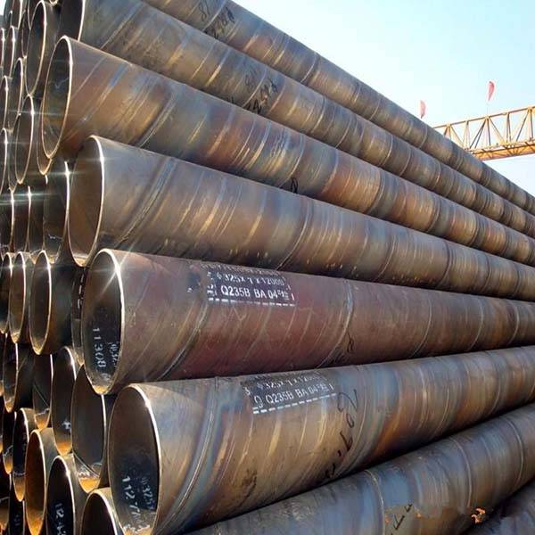 China Factory for Black Malleable Iron Tee - SSAW Structural Pipe – Rise Steel detail pictures