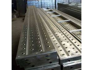 Scaffold Steel Plank With Hooks For Construction