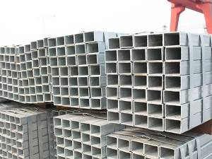 HDG Hot Dip Galvanized Hollow SectionSteel Pipe Square Pipes SHS Pipes