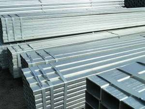 hot dip galvanized hollow section steel pipe