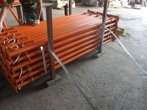 adjustable heavy-duty subway steel shoring prop