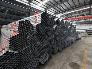 Pregalvanized Round Steel GalvanizedPipe Used For Construction