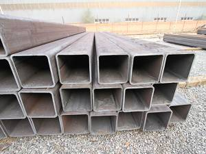 Black Steel Pipe Rectangular Hollow Section