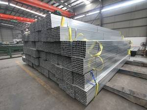 gi square steel pipe hollow section erwhdg square hollow section price