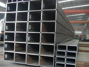 Black Carbon Steel Welded Square Steel Pipes