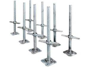 Hot Sale 700*30mm Adjustable Jack Base For Scaffolding Systems Working in Uneven Road Surface
