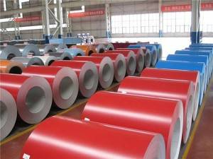 China coated ral 3019 ral 3020 ppgi color steel coil