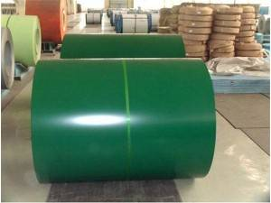 prepaint galvanized steel zinc coated steel coil 0.165-1.2mm PPGI