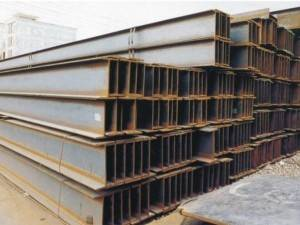 hot rolled Q235B Grade and 100mm-500mm Flange Width Carbon Steel H beams