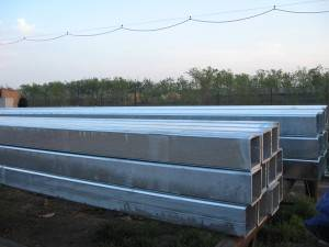 galvanized steel square tube / square tubehollow section square steel pipes