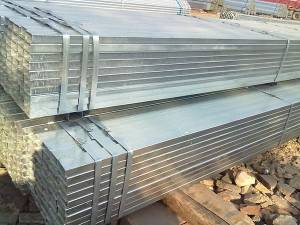 hot dipped galvanized hollow structural section steel pipe price
