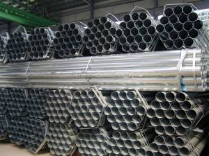 Factory direct china good quality metalpregalvanized steel pipe