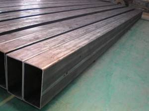 Hollow Rectangular Galvanized Steel Pipe Fencing