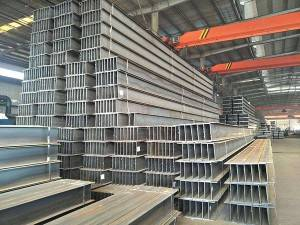 Mild Steel construction material wide flange h beam i beam supplier for sale