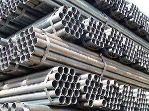 Round Black Iron S235 Structural Steel Pipe
