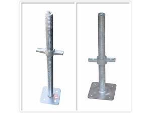 Steel Adjustable Galvanized Scaffolding Pump Jack Base