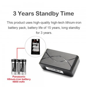 4G long standby gps tracking device for 3 years